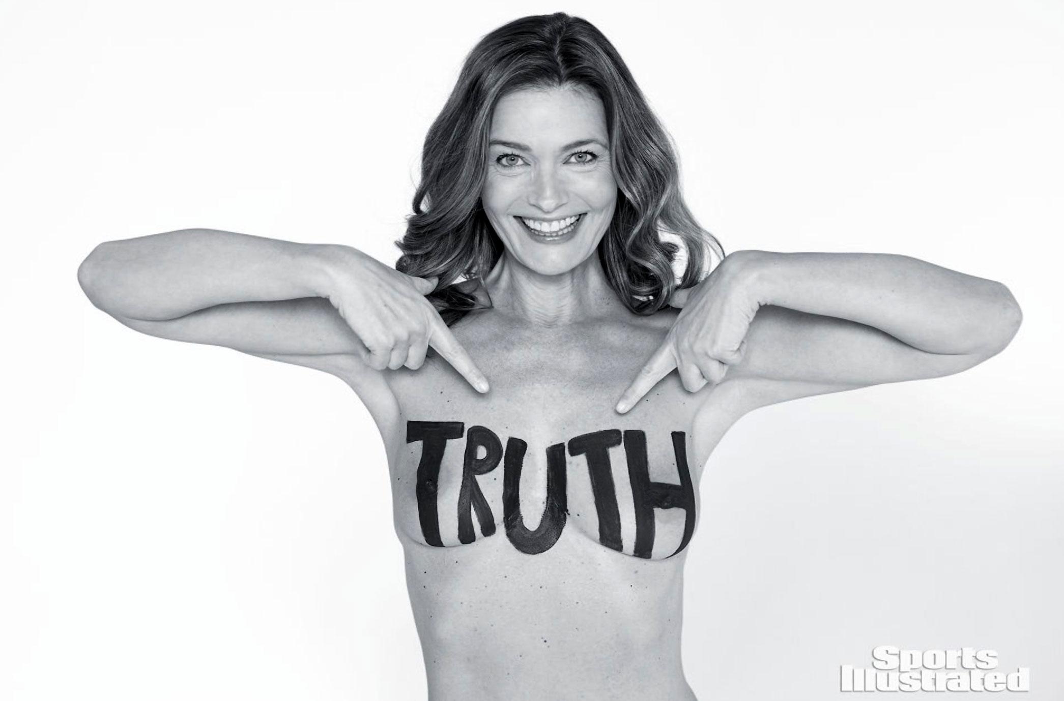 Paulina Porizkova nude tits