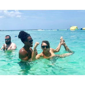 Rhea Ripley nude vacation