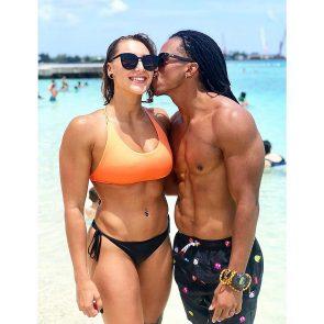 Rhea Ripley nude with boyfriend