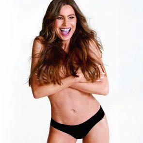 Sofia Vergara nude topless photoshoot