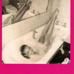 Tinashe nude in bathtub