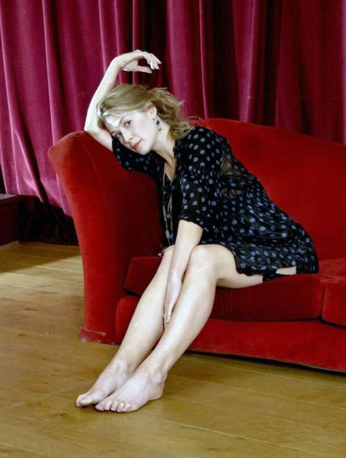 Rosamund Pike feet