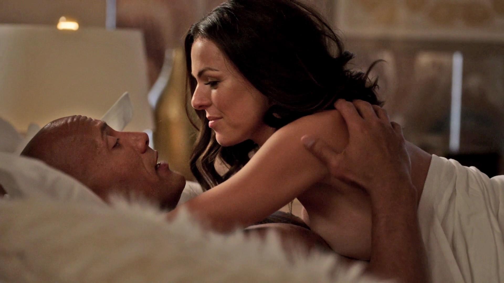 Serinda swan nude scene in chicago fire series