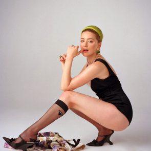 Amber Heard legs