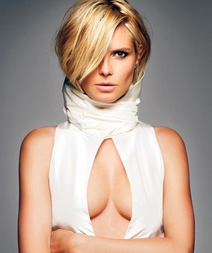 Heidi Klum tits