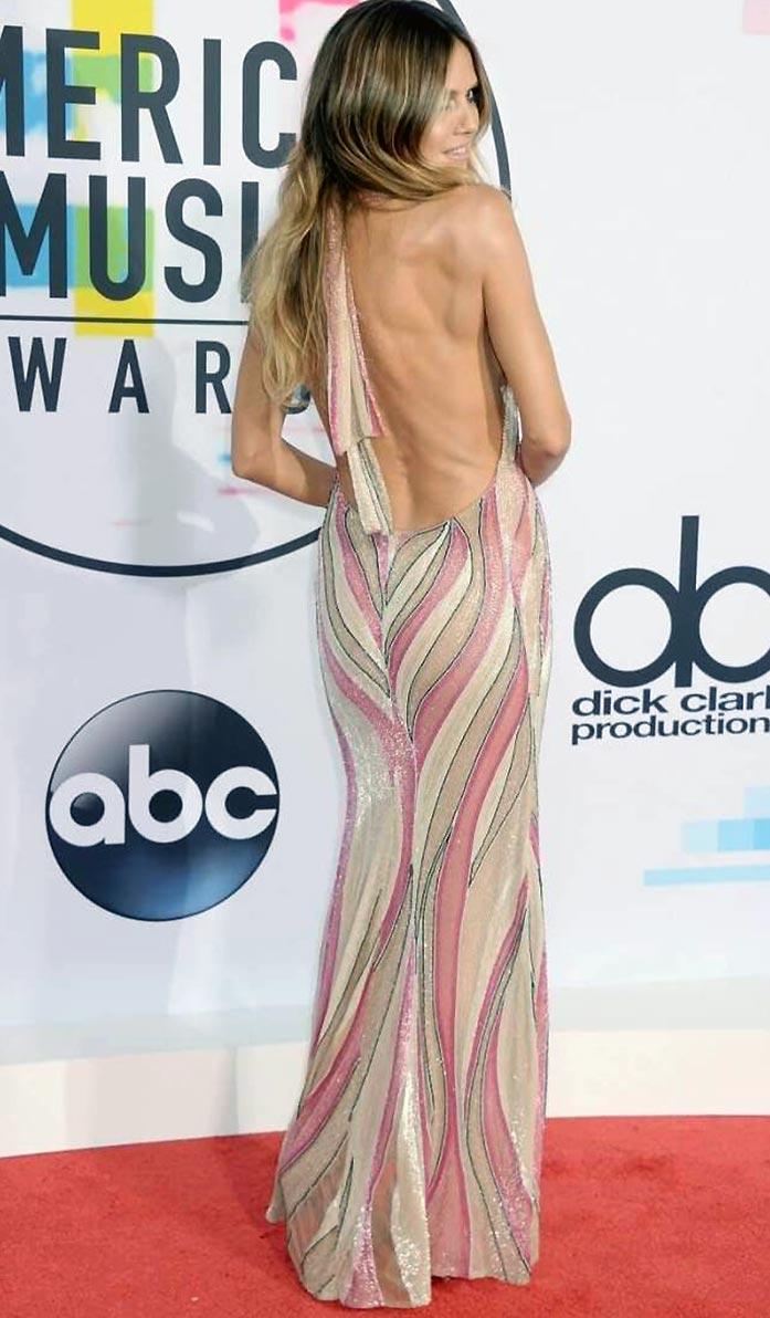 Heidi Klum ass