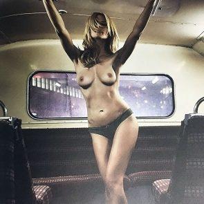 Heidi Klum nipples
