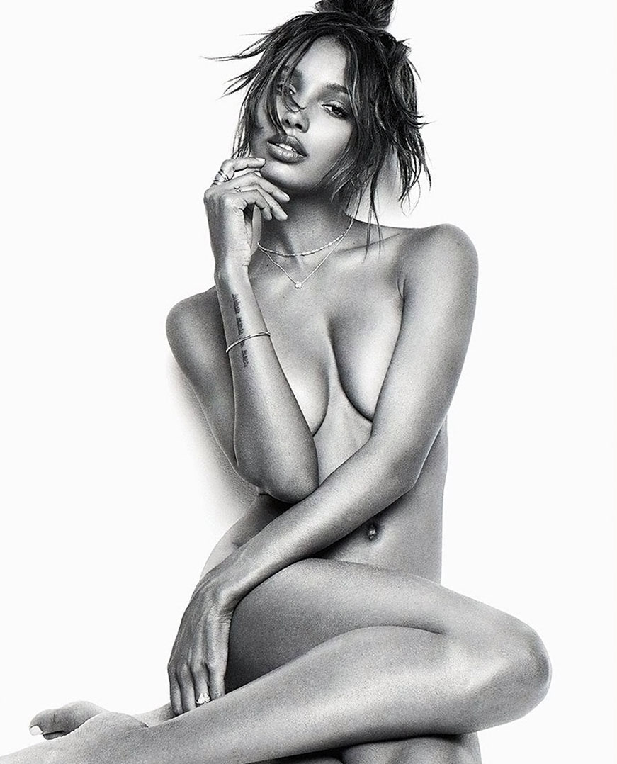 Jasmine Tookes boobs