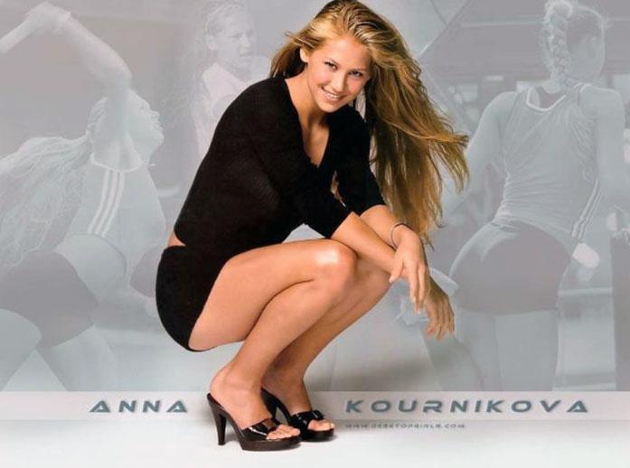 Anna Kournikova feet