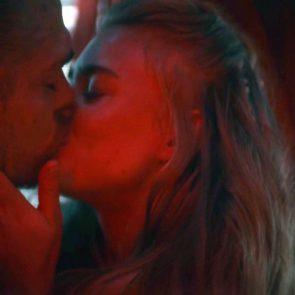 Jeanne Goursaud nude kissing