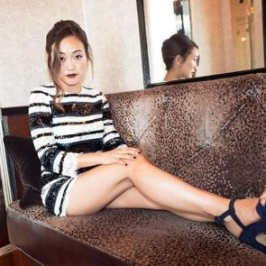 Karen Fukuhara nude and hot feet