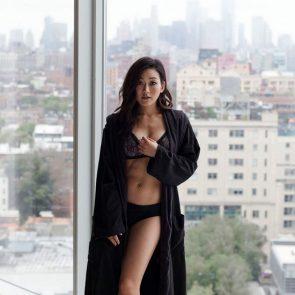 Karen Fukuhara nude sexy lingerie