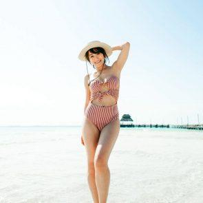 Karen Fukuhara nude red sexy bikini