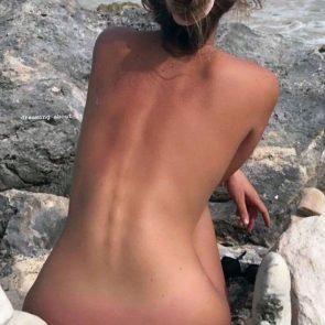 Polina Malinovskaya nude back