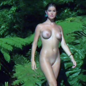 Amanda Cerny nude in the woods