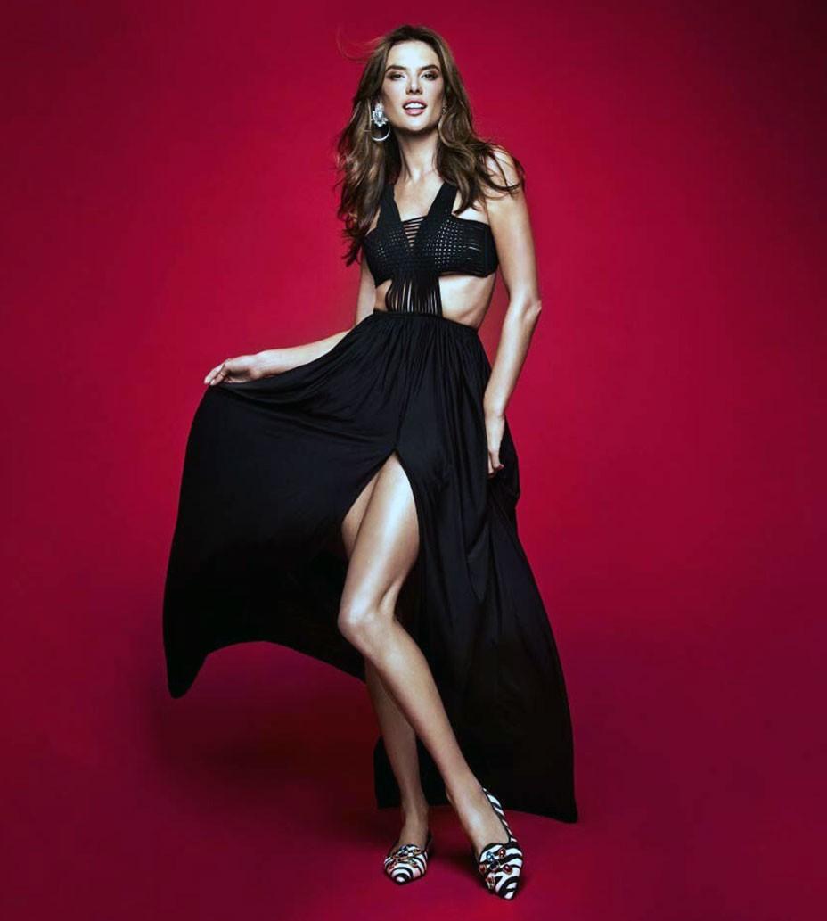 Alessandra Ambrosio legs