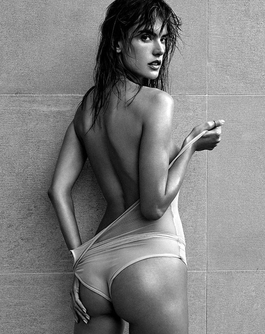 Alessandra Ambrosio Nude Collection