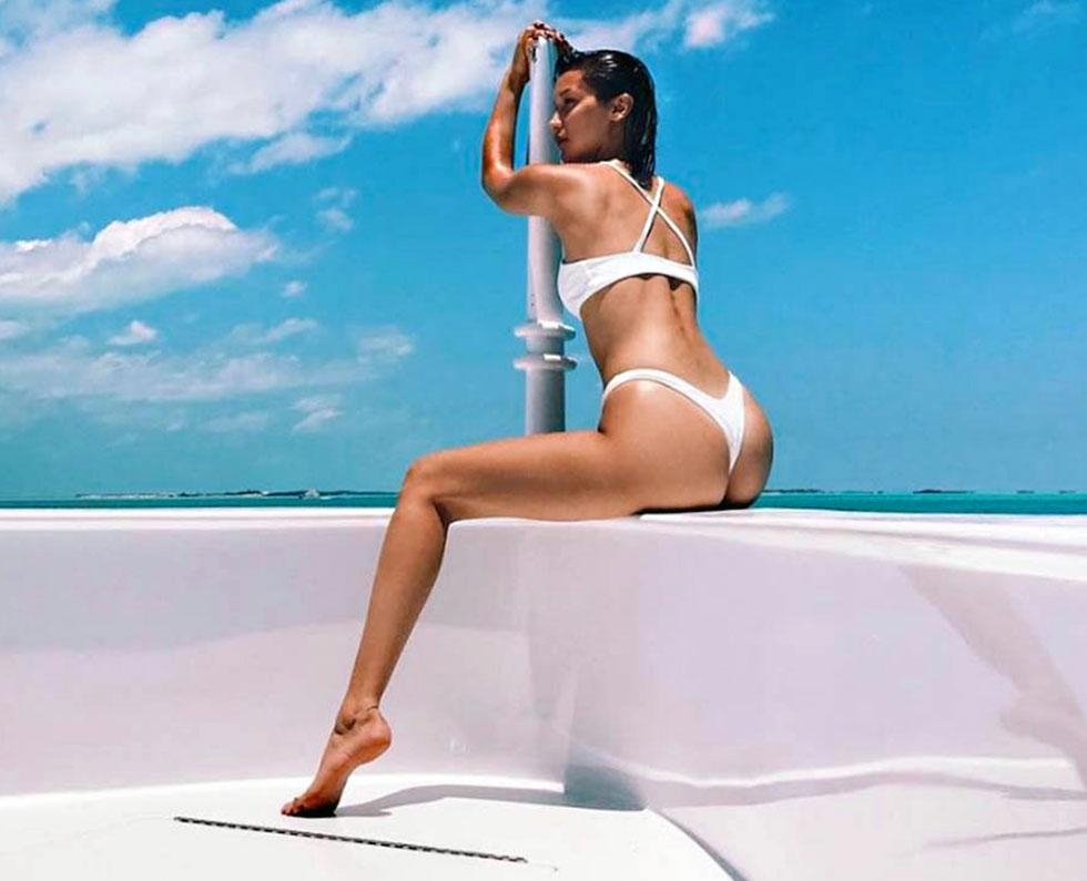 Bella Hadid ass