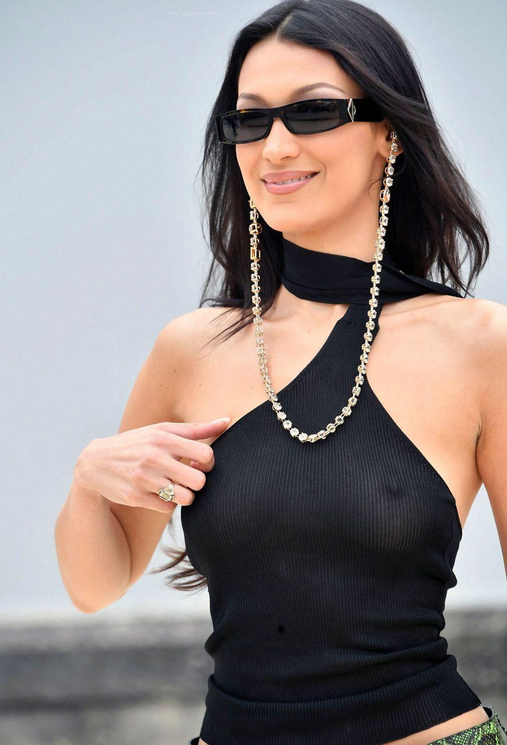 Bella Hadid tits
