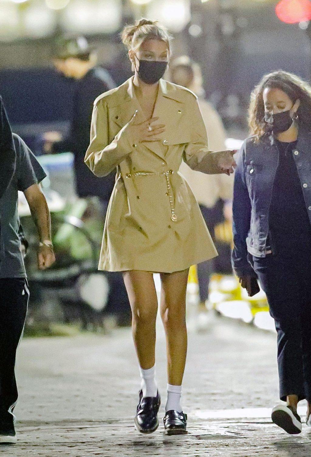 Bella Hadid legs