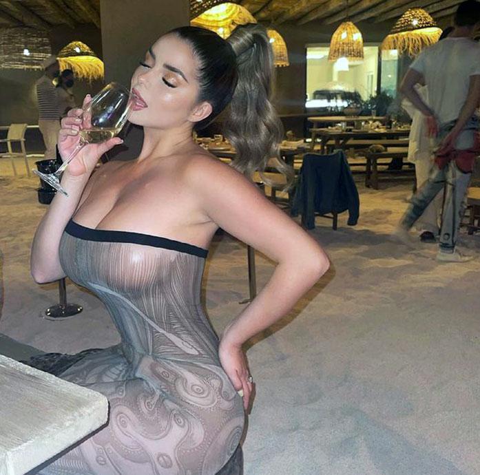 Demi Rose boobs