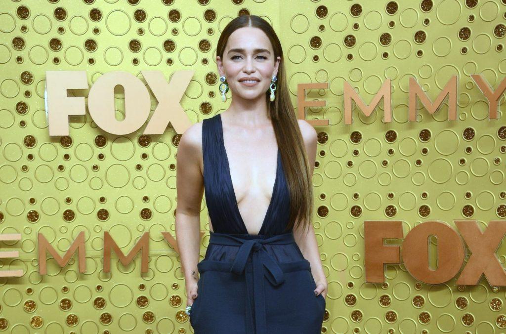 Emilia Clarke boobs