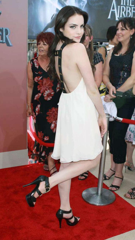 Elizabeth Gillies ass