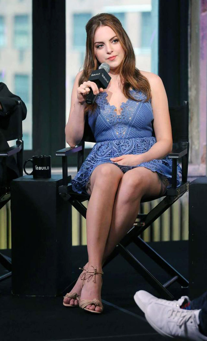 Elizabeth Gillies legs