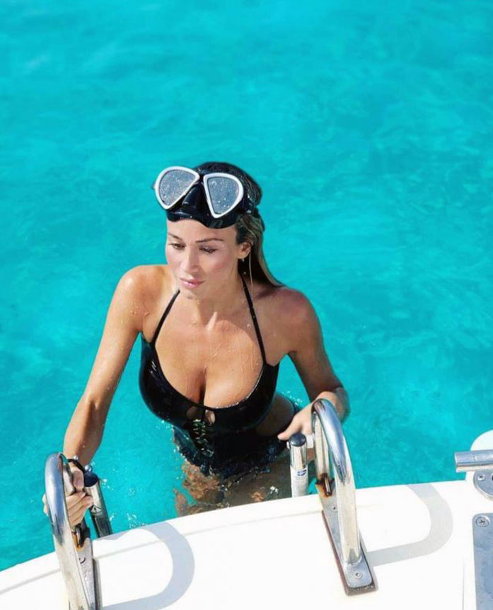 Diletta Leotta cleavage