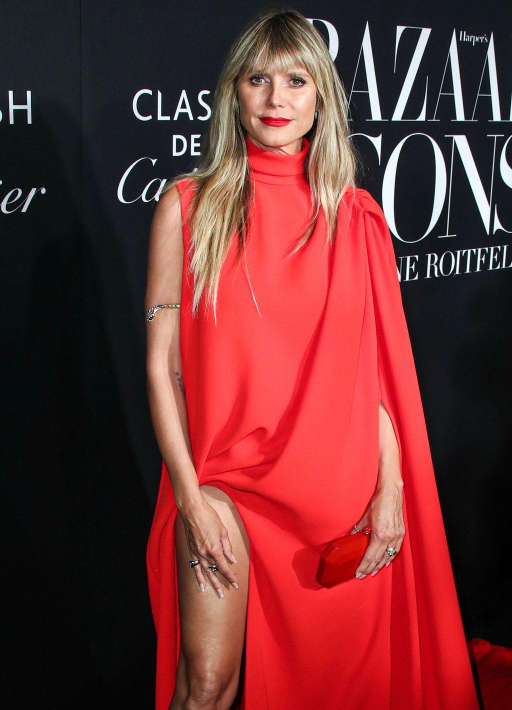 Heidi Klum boobs
