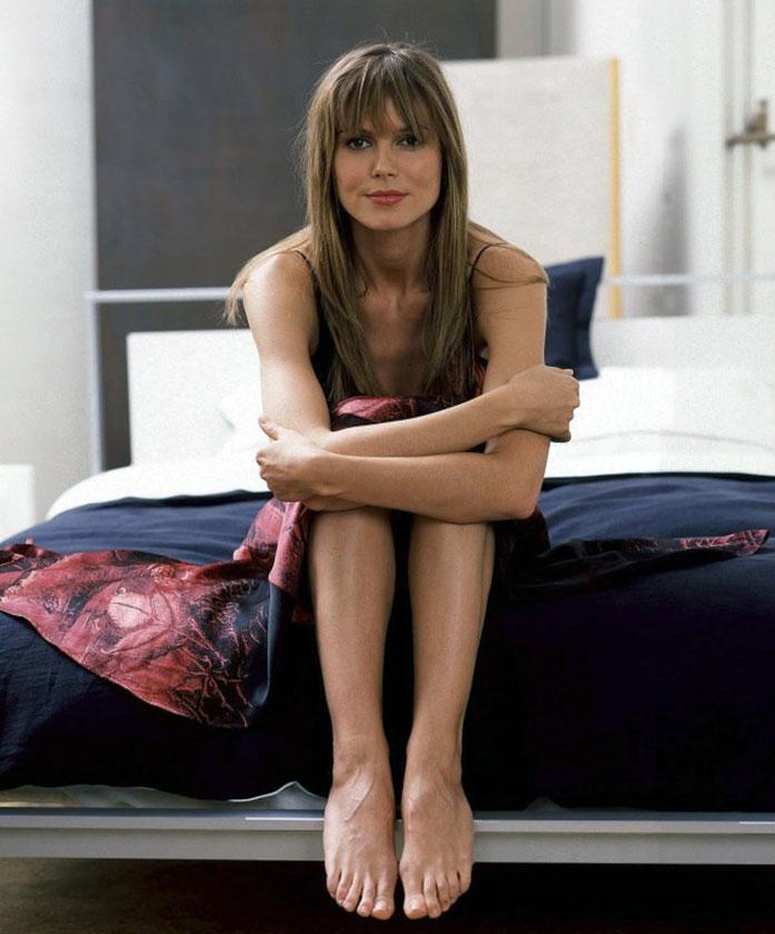 Heidi Klum feet