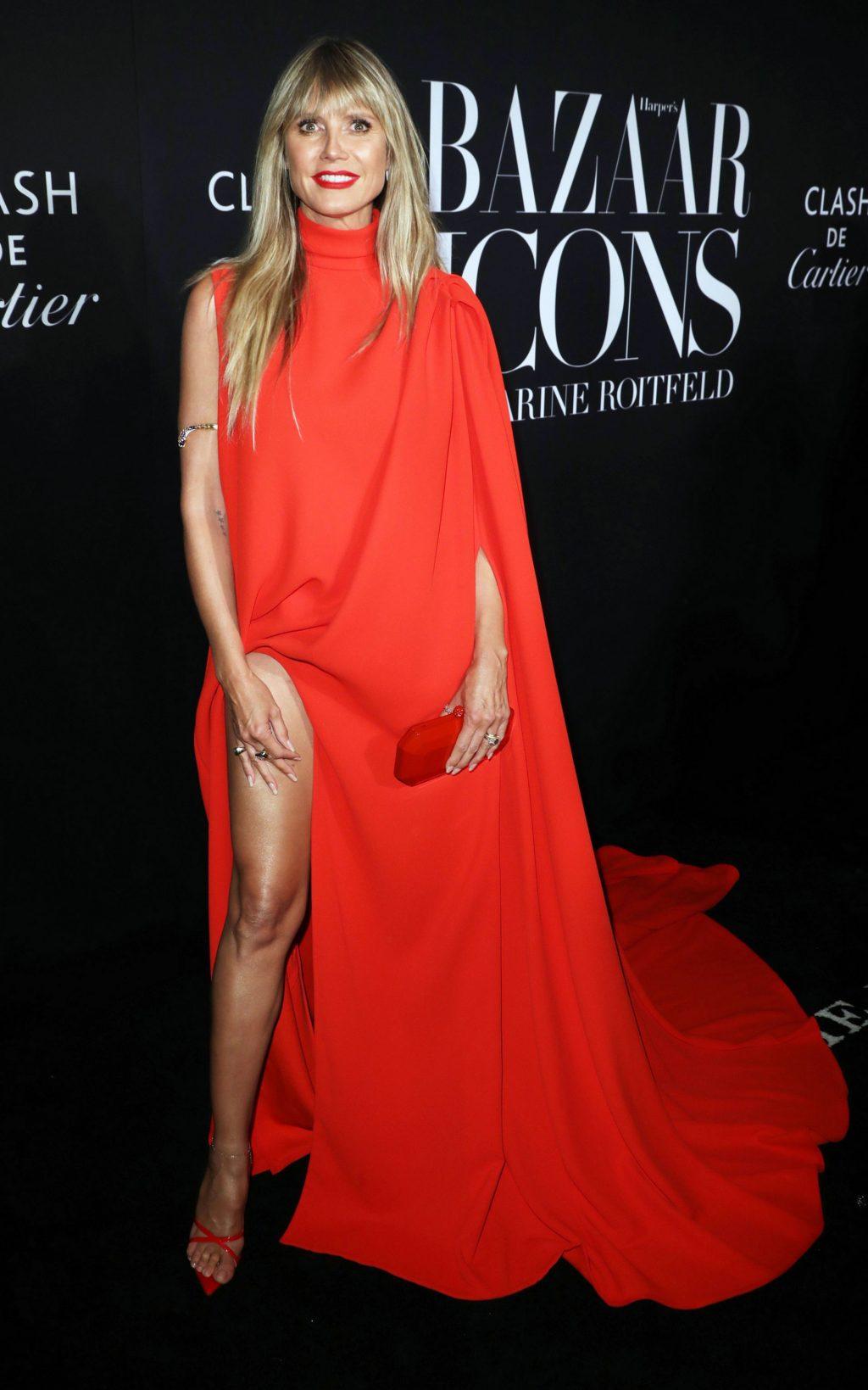 Heidi Klum legs
