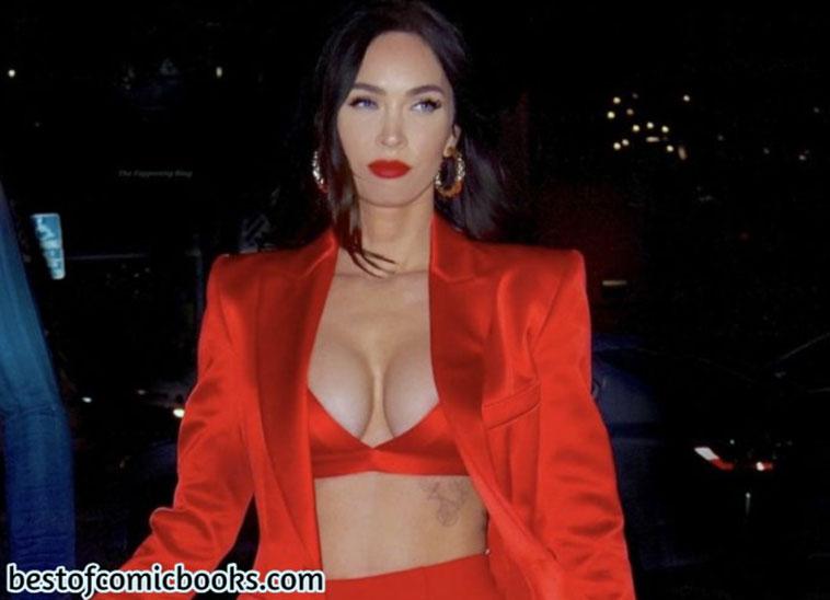 Megan Fox cleavage