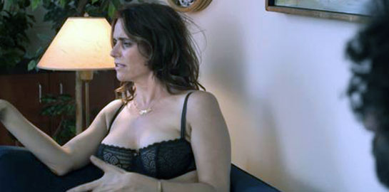 Amy Landecker cleavage