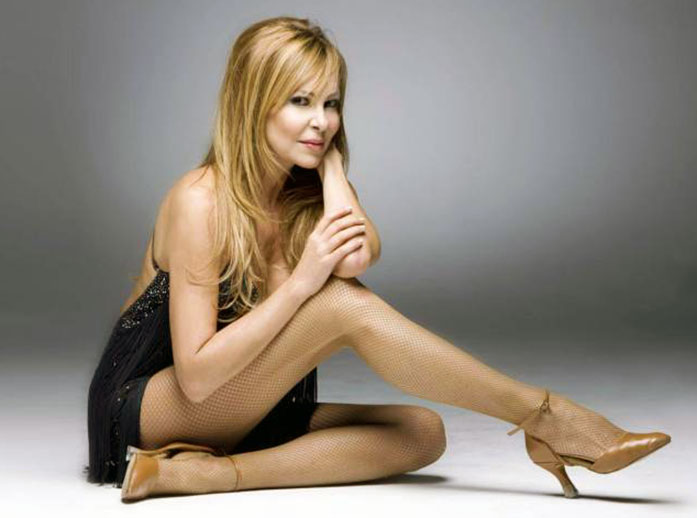 Ana Obregon legs