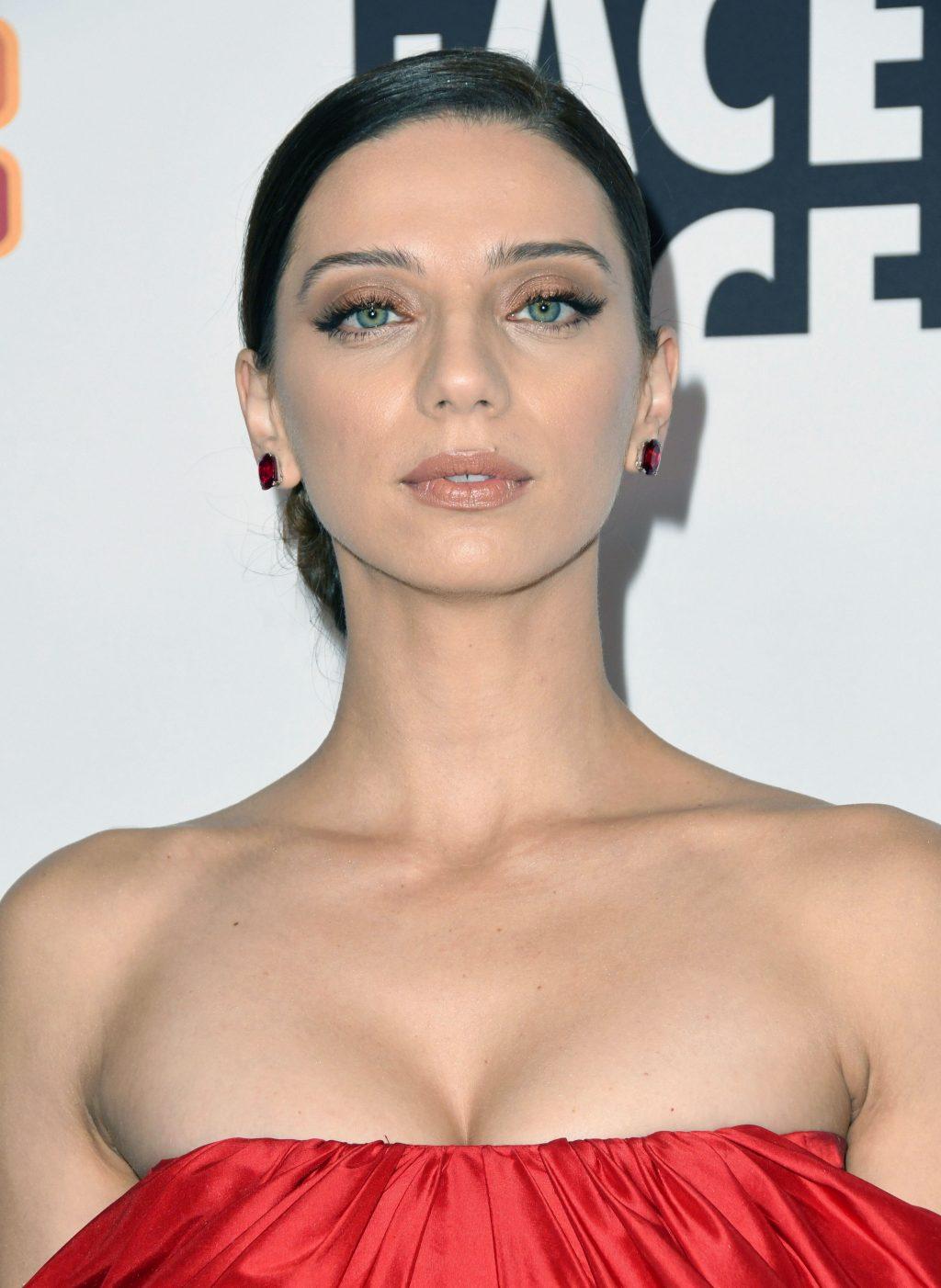 Angela Sarafyan cleavage
