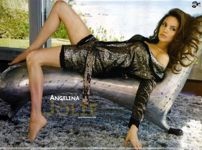 Angelina Jolie feet