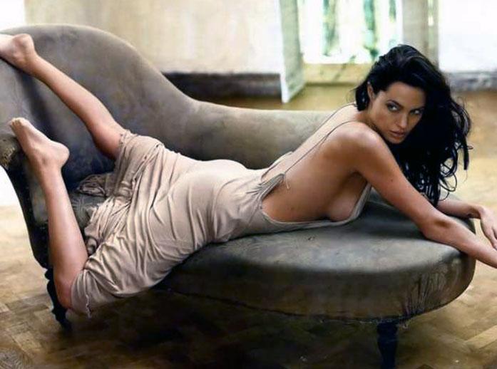 Angelina Jolie ass