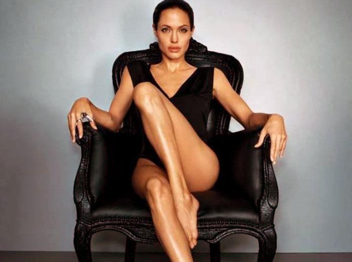 Angelina Jolie legs