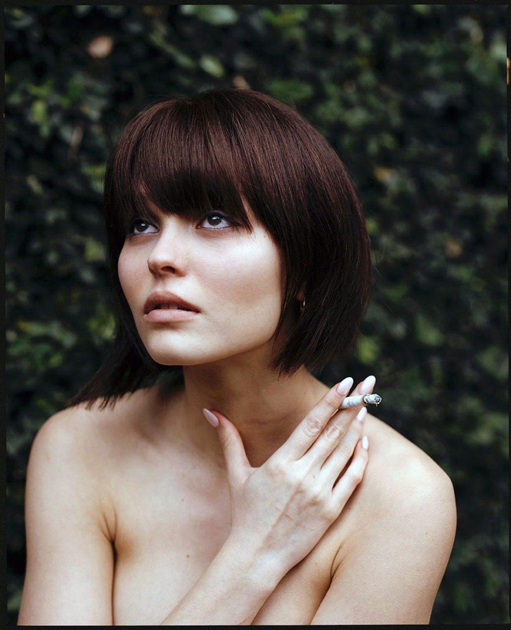 Lily-Rose Depp naked