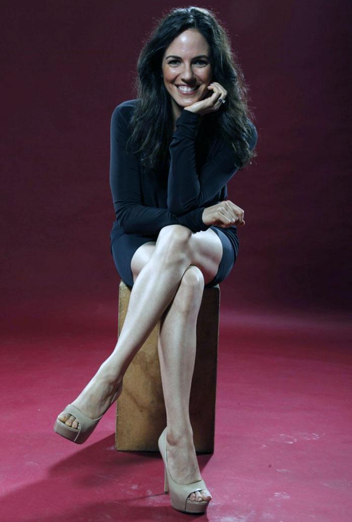 Anna Silk feet