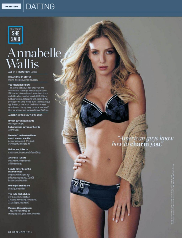 Annabelle Wallis sexy lingerie