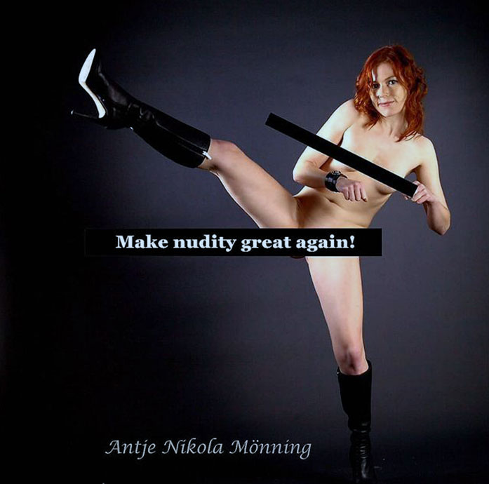 Antje Monning hot