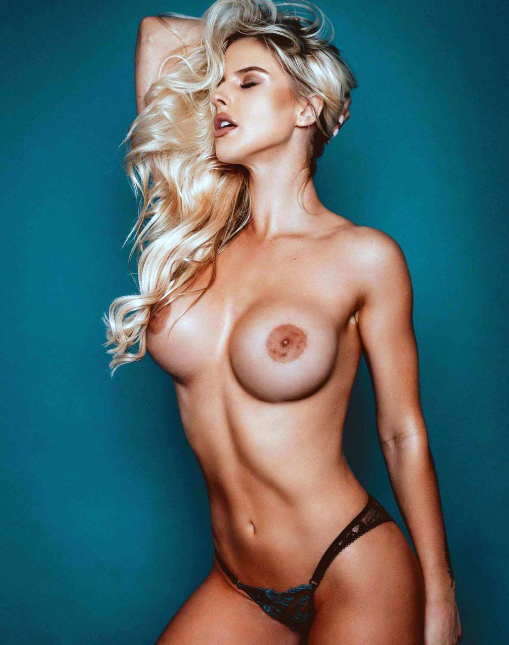 Brennah Black nipples