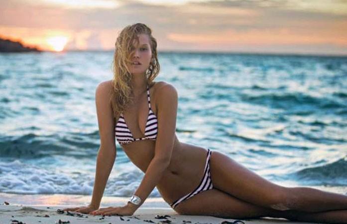 Toni Garrn bikini
