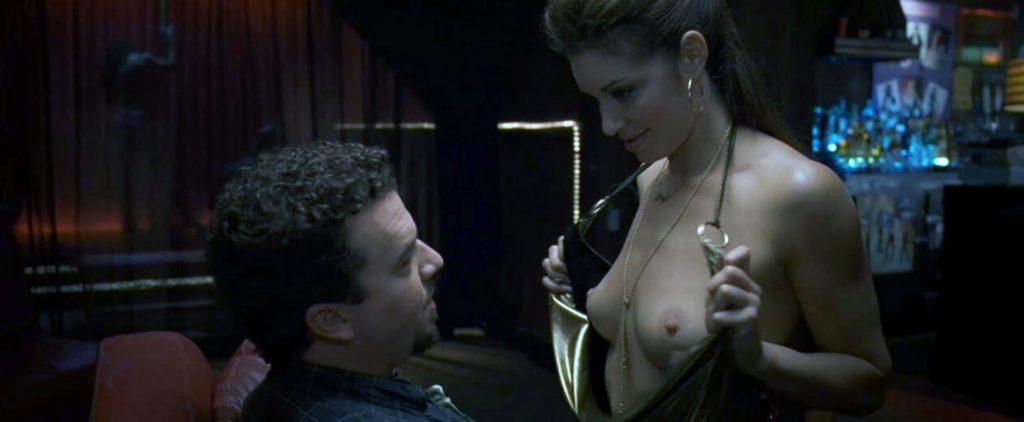 Bianca Kajlich nipples