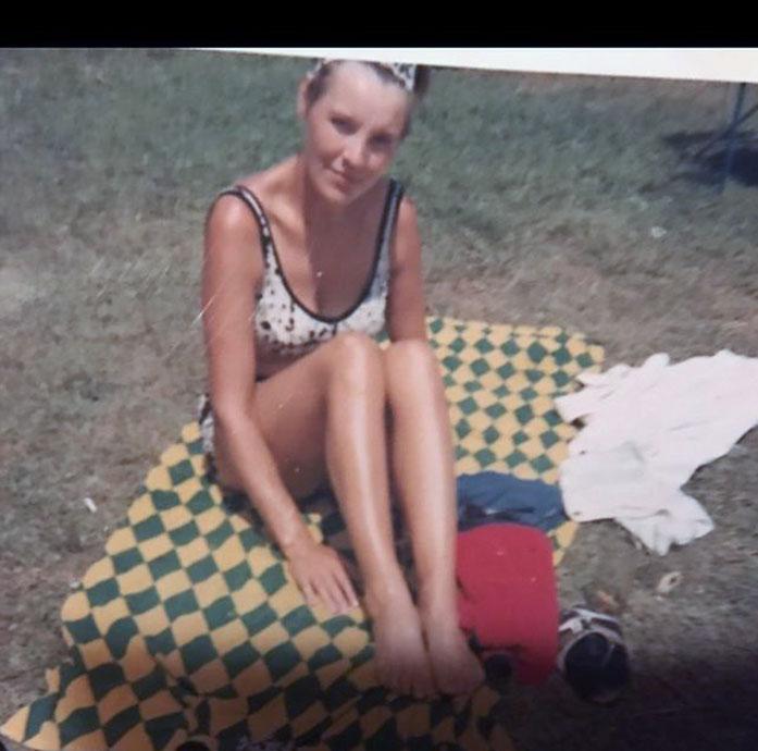Birgitte Sondergaard bikini