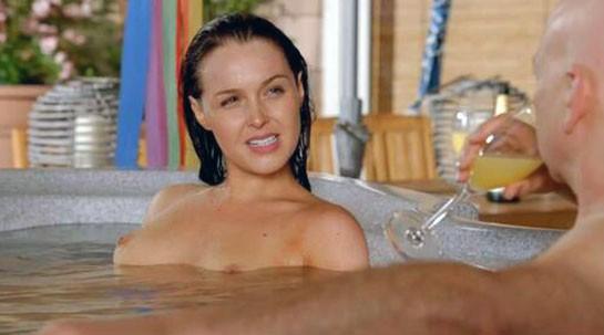 Camilla Luddington nipples