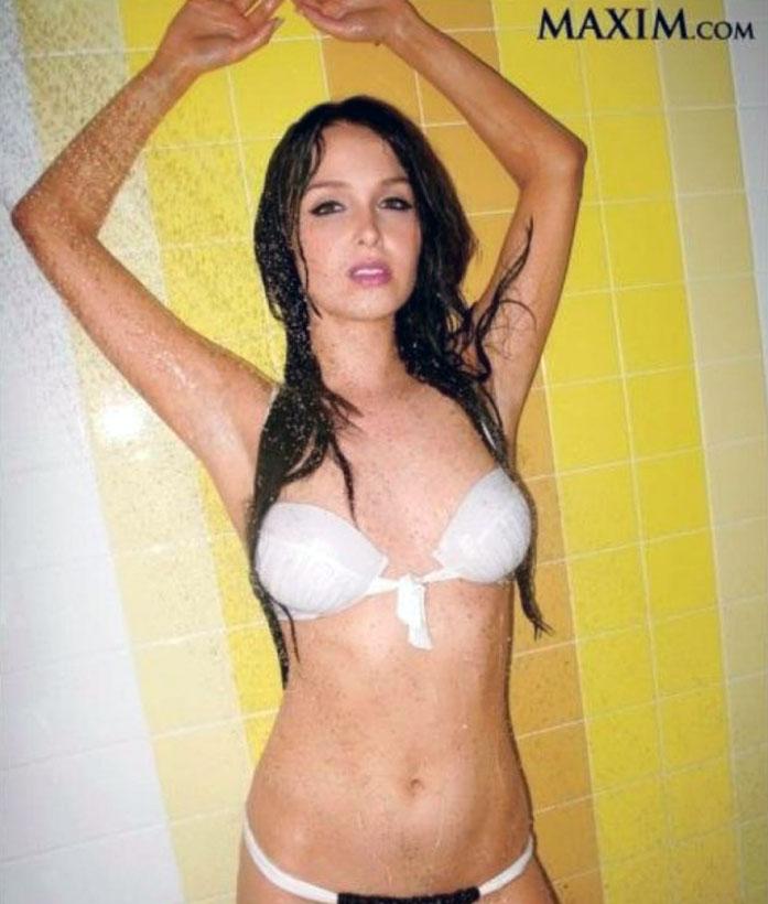 Camilla Luddington bikini
