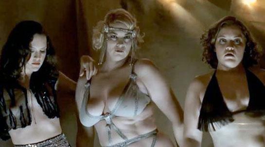 Carla Gallo cleavage